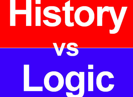 When history conflicts with logic, history is the loser