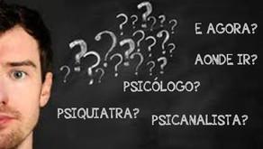 A diferença entre Psicanálise, Psiquiatria e Psicologia