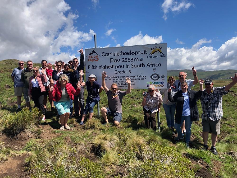 Carlisleshoekspruit Pass, Rhodes, Ben Ten Echo Challenge, Eastern Cape, Barkley East