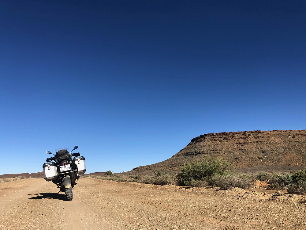 adventure motorcycle, 4x4 tour, motorcycle tour, travel, south african travel, BMW GS, BMW Motorcycle, GS 1200, Panier, top box,