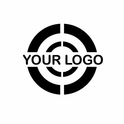Own logo for key case