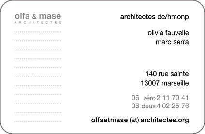 olfa et mase architectes 140 rue Sainte, 13007 Marseille Provence Alpes Côte d'Azur PACA France