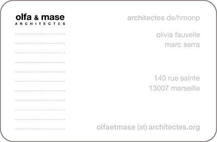 olfa et mase architectes 7 cours maréchal foch 13400 Aubagne Provence Alpes Côte d'Azur PACA France
