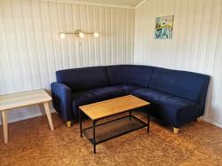 Hytte 23 stue, Sveastranda Camping