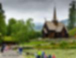 maihaugen, garmo stave church, museum, lilehammer