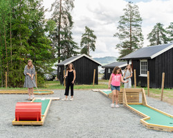 Minigolf gøy Sveastranda Camping
