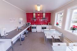 Sveastranda camping, amenities, facilites, kitchen