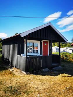 Hytte 4 utsiden Sveastranda Camping