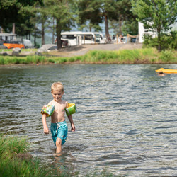 Bading Sveastranda Camping