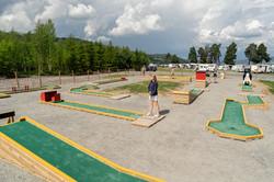 Minigolf 12 baner Sveastranda Camping