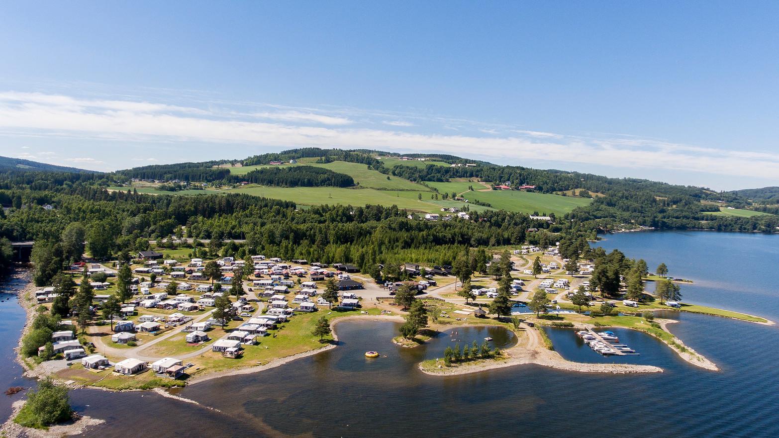 Sveastranda camping,, cabins, caravan, motorhome, tent, beach