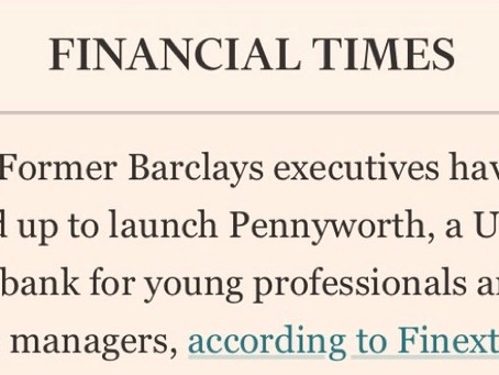 Financial Times - Former Barclays bankers have teamed up to launch Pennyworth