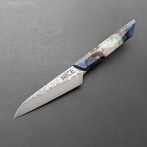 """""""STORM CLOUD"""" 4"""" PARING KNIFE"""