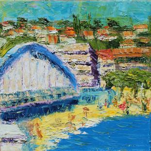 Vues sur les Bord de la Mer (Ste. Maxime Bridge)