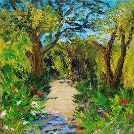Provence Beach Trail with Oleander