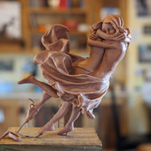 Furling - Clay Model