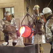 Bronze Pour for Glorious