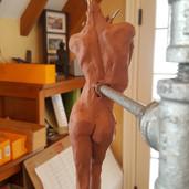 Clay Model Work In Progress