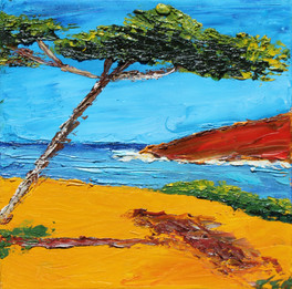 Vues sur les Bord de la Mer (One Umbrella Pine)