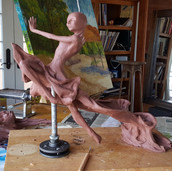Breathless Clay In Process