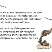 Saw Lightning Poem