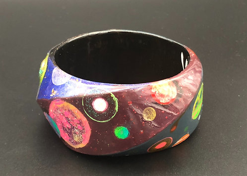 Swirling Cosmos Bangle