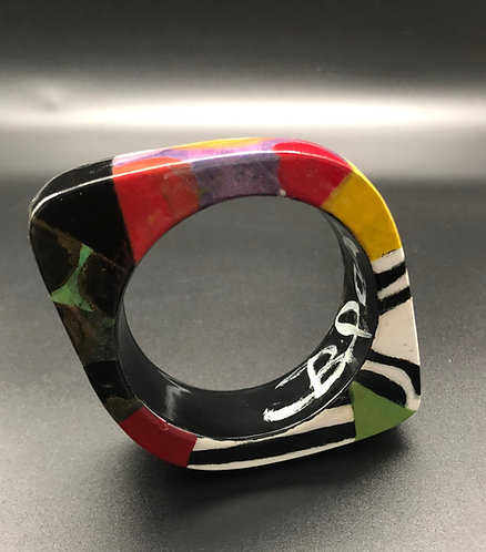 Multi Patterned Eye Bracelet