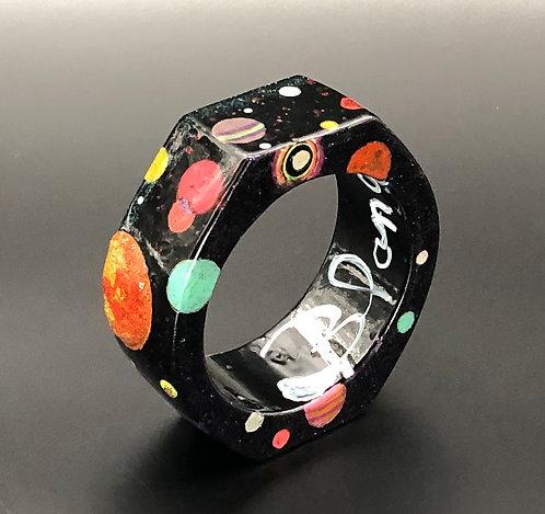 Black Cosmos Bangle II