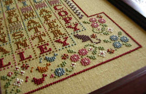 Needlework, Cross stich