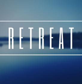 Blue Scenic Silent Retreat Medium Rectan
