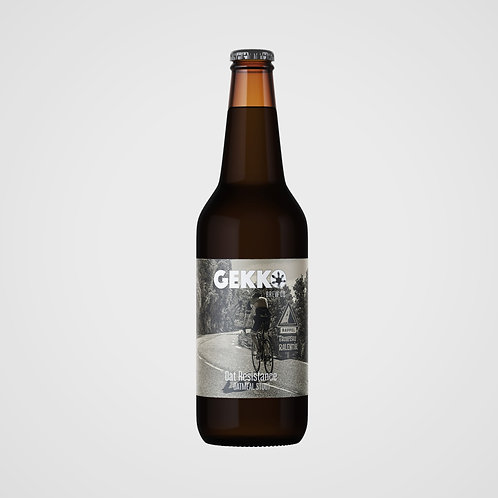 Oat Resistance Oatmeal Stout 33cl.                            box of 6, 12 or 24