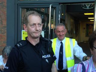 Residents refused entry at AVBC meeting
