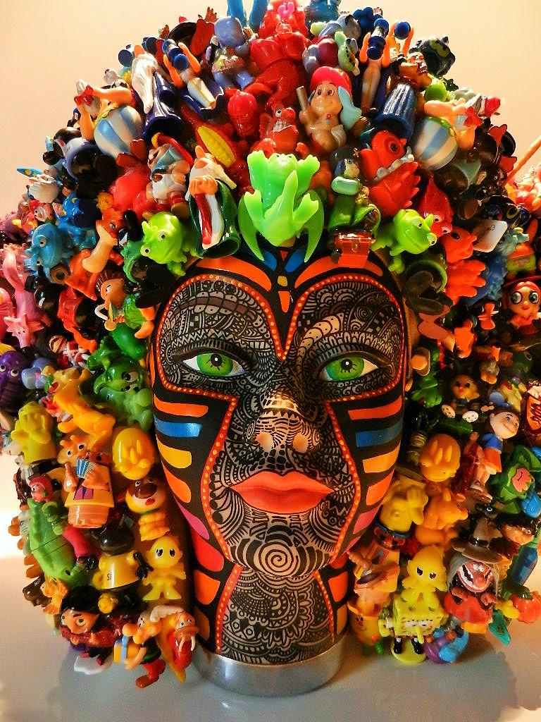 Art Singulier Sculpture Kinders