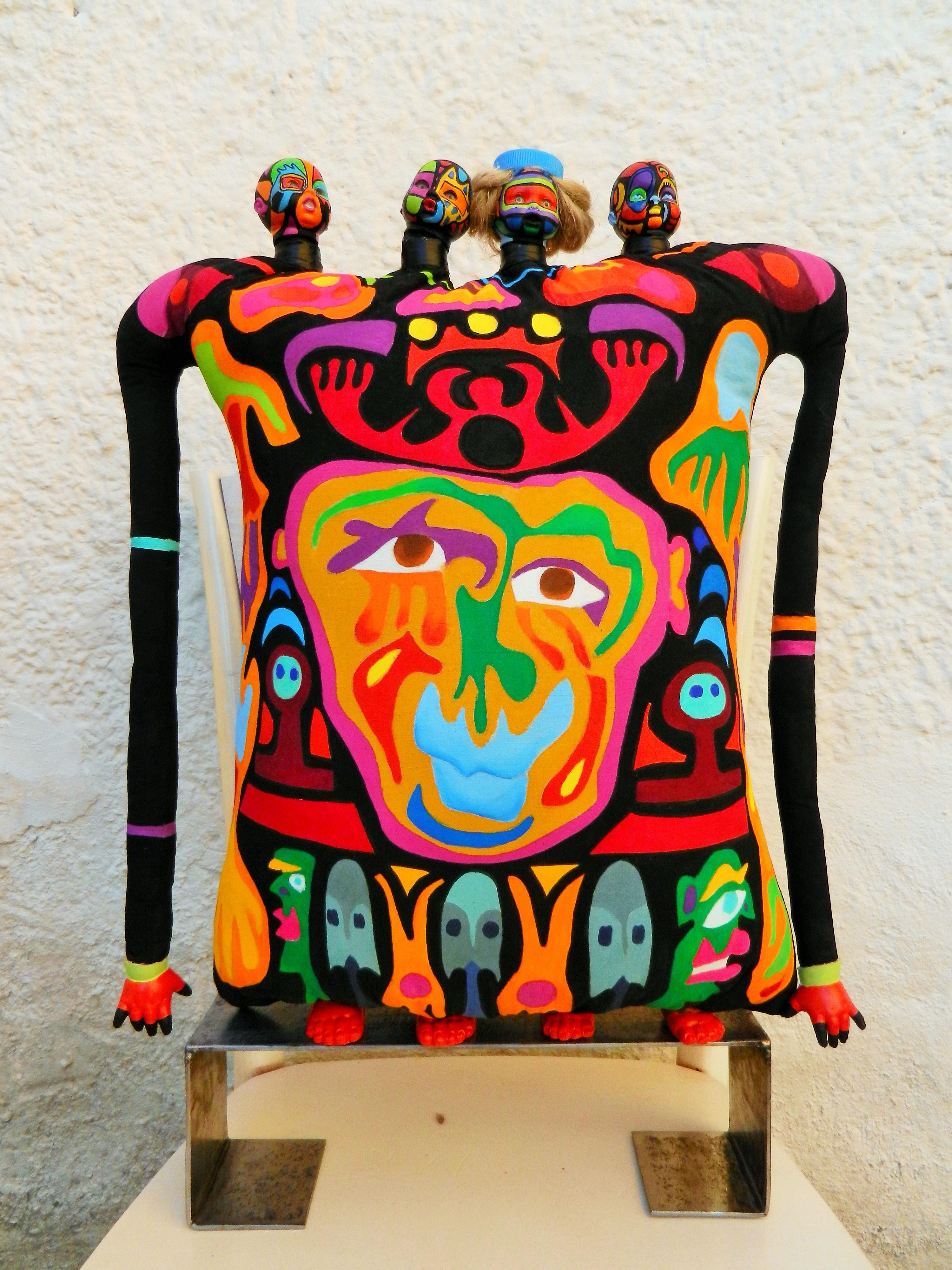 Art Singulier Sculpture Tissus