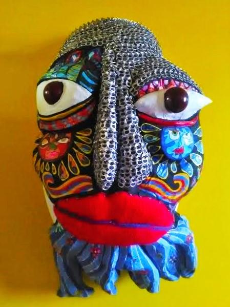 Art Singulier Sculpture Masques