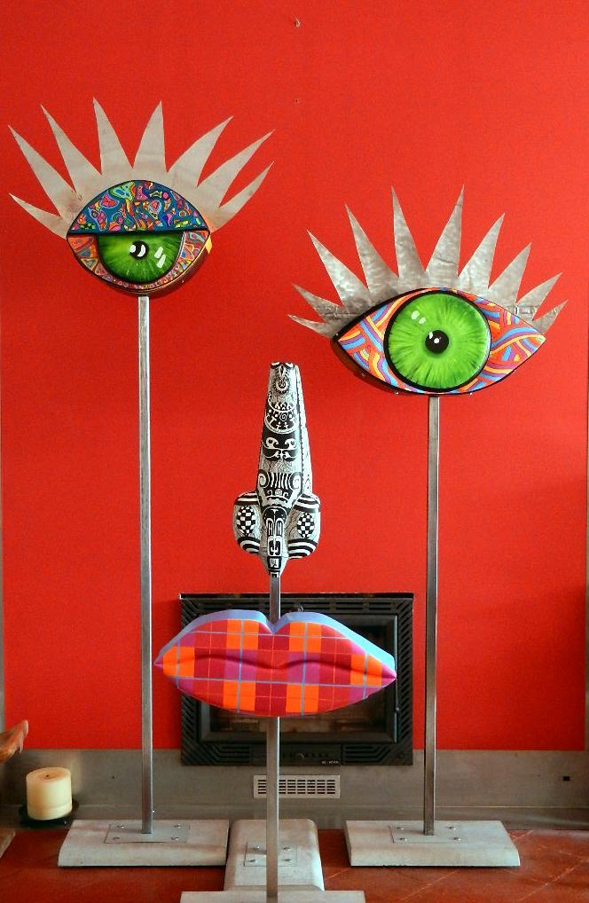 Art Singulier Sculpture Inclassables
