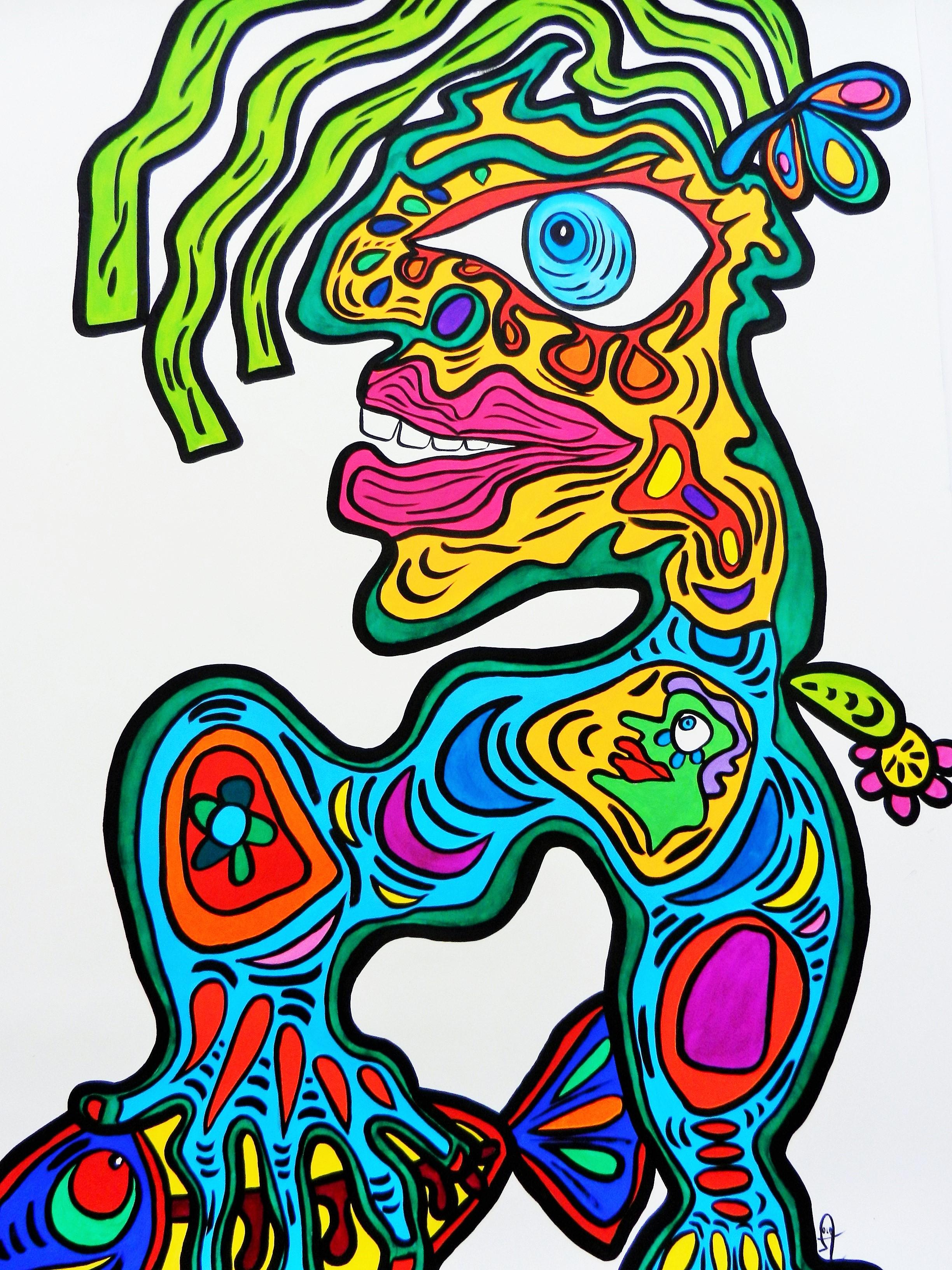 Art Singulier Peinture Pures