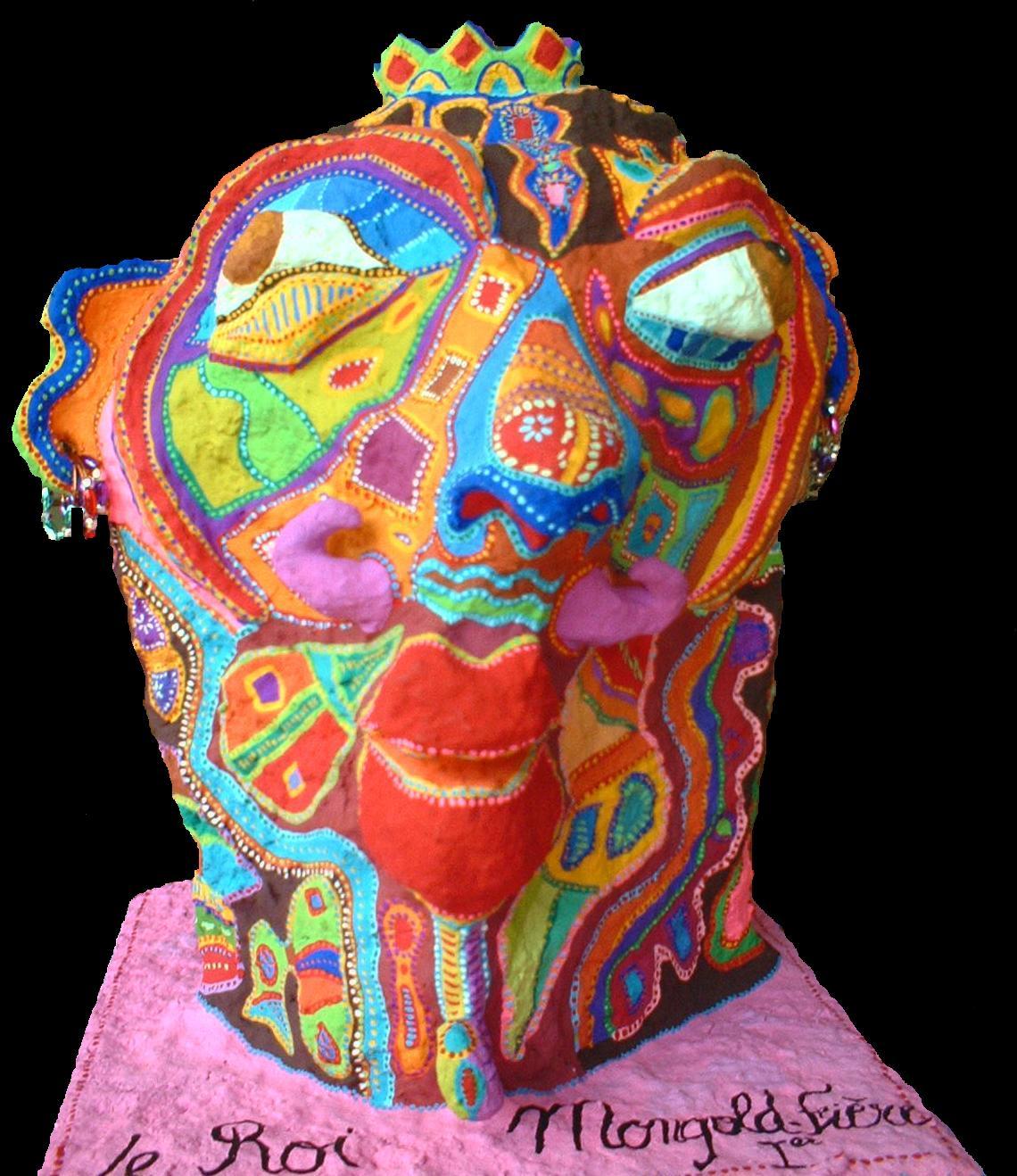 Art Singulier Sculpture Mâchés