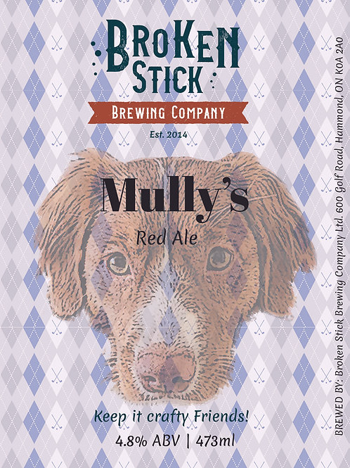 Mully's Red - 473ml Can