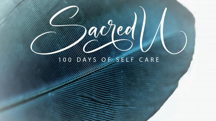 Sacred U book - 100 days of self care