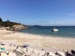 Swanpool Beach - only 15 minute walk from property