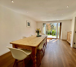 Dining Area with views of garden
