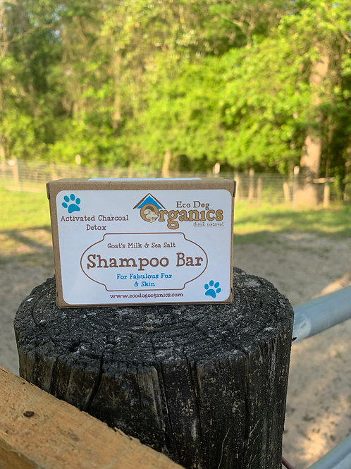 Activated Charcoal Detox Shampoo Bar (People & Pets)s