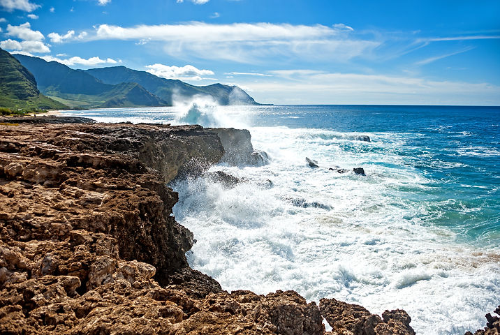 Can't drive any further than to this beautiful lands end spot at Kaena Point,  Oahu..jpg