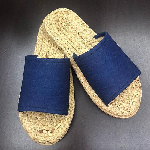 Weaved Shoes (Plain-Blue)