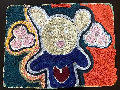 Handmade Rug (Bear)