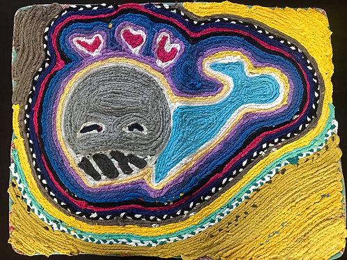 Handmade Rug (Seal)