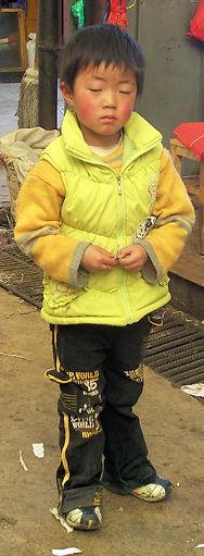 Market Boy Tibet