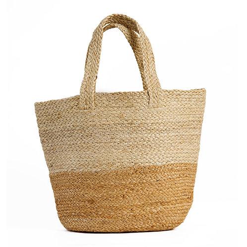 Jute geweven tas
