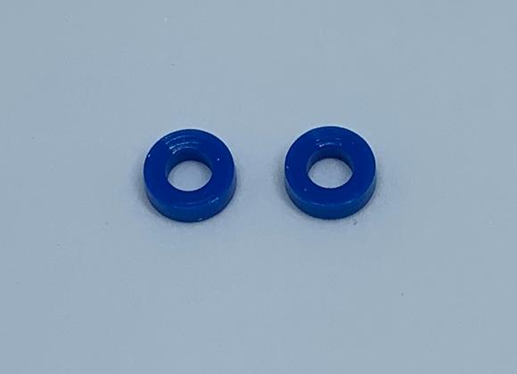 .353 Diameter Skinny tires Blue
